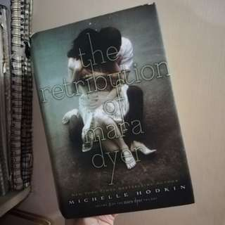 The Retribution of Mara Dyer hardbound signed copy