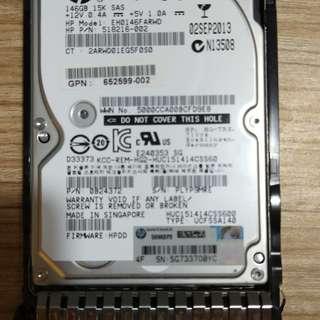 HP 15K SAS HDD 146GB