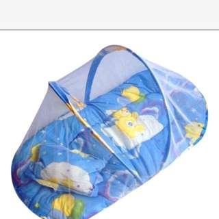 免運全新 輕便攜帶嬰兒蚊帳