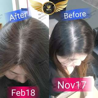WoWo shampoo hair set