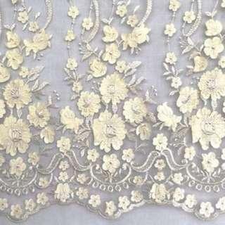 Flower 3d lace