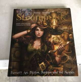 Gothic Dreams Steampunk Coffee Table Book