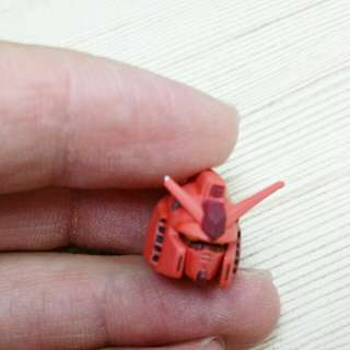Gundam head Gundam fix red warrior