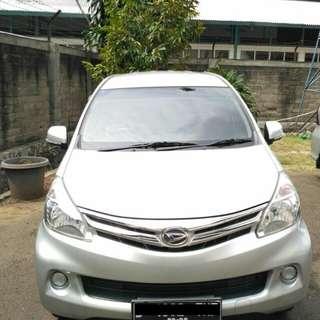 Daihatsu Xenia M Th 2014 Silver Metalik