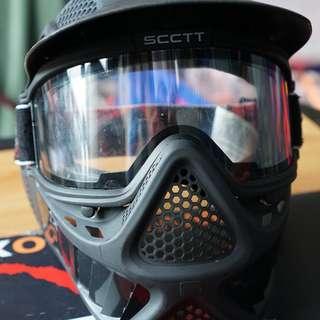 Face Mask & Armguards Rental