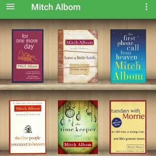 Mitch Albom Ebooks