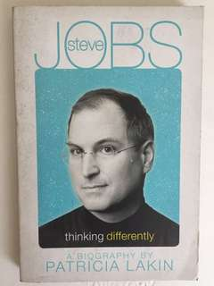 Steve Jobs Thinking Differently by Patricia Lakin