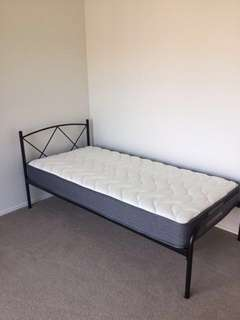 Single Bed & Accessories