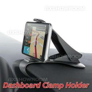 Universal Dashboard Clamp Holder For Mobile Phones Or GPS.