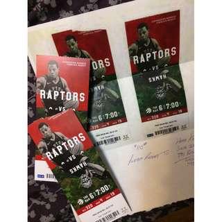 Raps vs Hawks Tickets ( Army Night)