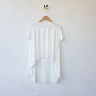 White longback top