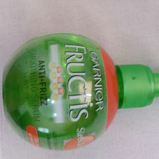 Garnier Fructis anti frizz smoothing serum