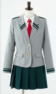 Bnha female uniform