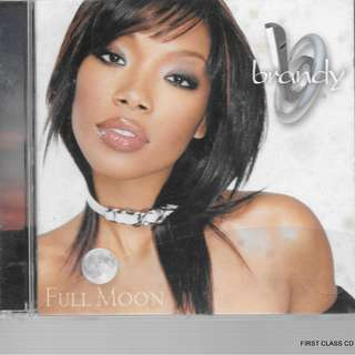 MY PRELOVED CD - BRANDY- FULL MOON /FREE DELIVERY (F7E)