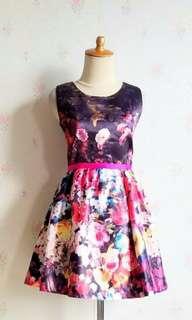 Gloral glamour dress