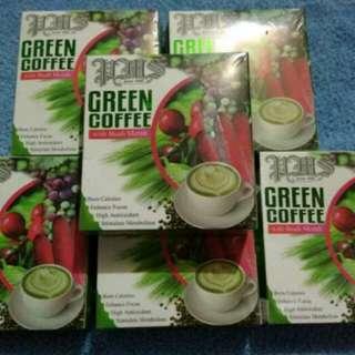 Slimming Green coffee with ( Buah Merah)