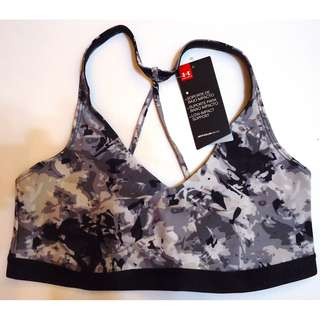 UNDERARMOUR Sports Bra (camouflage gray printed)