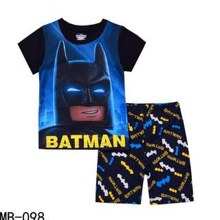 Batman tshirt with shorts set