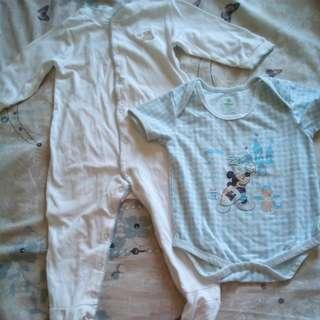 baby boy suit & onesie
