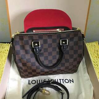 Louis vuitton speedy bandouliere authentic preloved