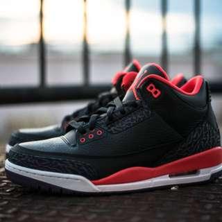 FS as pack: Jordan 11 Low Cherry / Jordan 3 Bright Crimson