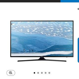 UA43KU6000 Samsung 43 inches 4K TV with HDR ( in warranty till 17 Oct 2019)