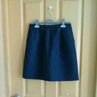 J.Crew navy blue skirt