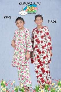 Baju Kurung Kanak-kanak Koleksi Raya 2018