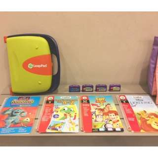 Leapfrog Read and Write Leap Pad System with 4 books and catridges
