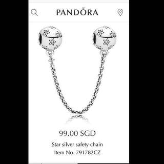 Pandora Star safety chain