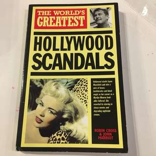 Hollywood Scandals by Robin Cross and John Marriot - 1989