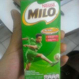 For sale kotak susu milo 2017 bekas belum dicuci
