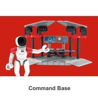 SHELL V-POWER SPACE EXPLORERS Lego-like Command Base