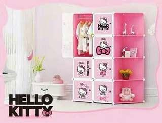 8-Cube Hello Kitty Wardrobe