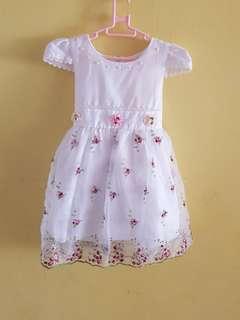 White Dress [Size : 110]