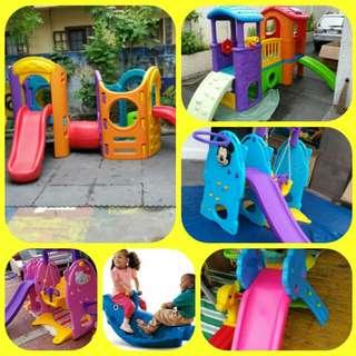 Baby slide playground