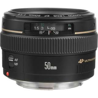 Canon EF 50mm F 1.4 USM Lens - 9.5/10 Condition