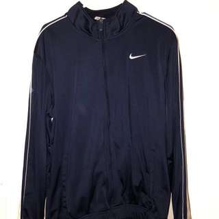 Navy Blue Nike Zip Up