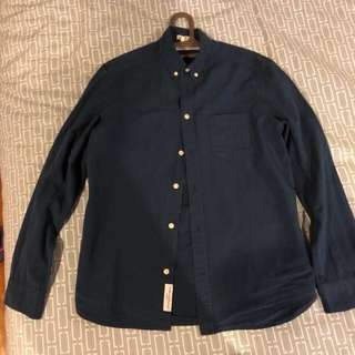 Pre-loved H&M Navy Long Sleeves with issue