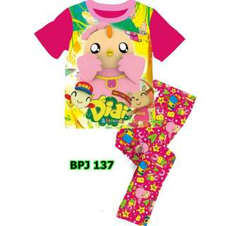 Didi and friends pink pyjamas set