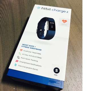 FitBit Charge 2  Brand New Unopened (Bought on Feb 2018)