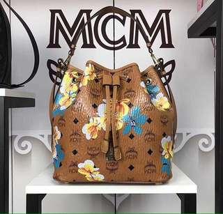 MCM Serut flowery pattern LIMITED ED!