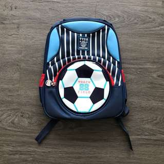Football Kids School Bag