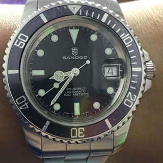 Sell : Sandoz Submariner Diver ETA 波膠