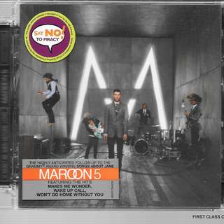 MY PRELOVED CD   -  MAROON 5 - /FREE DELIVERY (F7E))