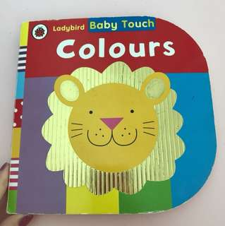 baby touch book —colours