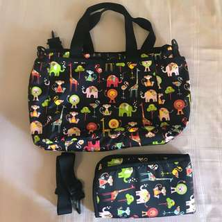 LeSportSac Diaper Bag Mommy Bag