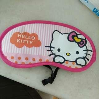 Hello kitty eye mask