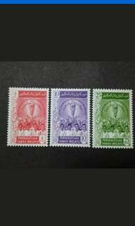 Malaysia 1959 Federation Of Malaya Inauguration Parliament Complete Set - 3v MH Stamps #2
