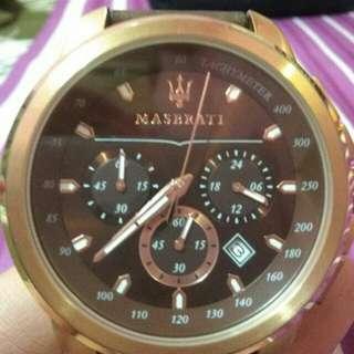 Jam tangan merk Maserati Ori